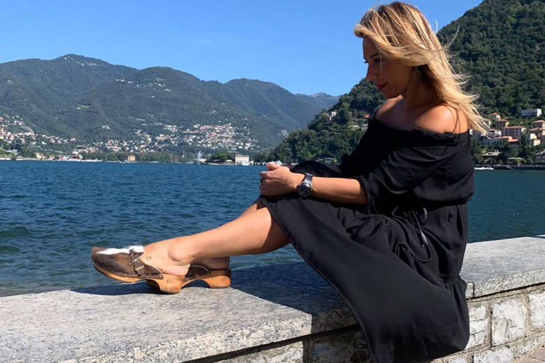 Maria Laura Berlinguer presenta i prodotti delle Gabrielle